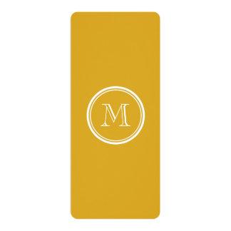 着色されるあなたの最初のGoldenrod上限 カード