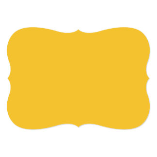 着色されるサフランの上限の固体 カード
