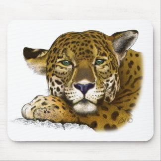 着色されるジャガー マウスパッド