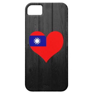 着色される台湾の旗 iPhone SE/5/5s ケース