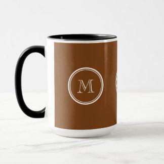 着色される名前入りなあずき色の上限 マグカップ