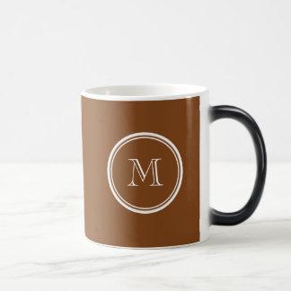 着色される名前入りなあずき色の上限 マジックマグカップ