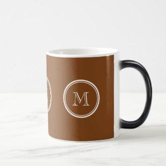 着色される名前入りなあずき色の上限 モーフィングマグカップ