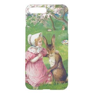 着色される女の子のイースターのウサギはミズキに卵を投げつけます iPhone 8 PLUS/7 PLUS ケース