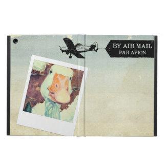 着色される米国の航空便のガチョウタン iPad AIRケース