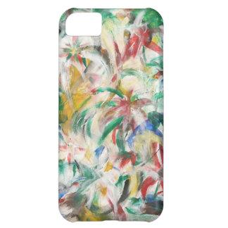 着色される芸術をフィンガーペイントで描いて下さい iPhone5Cケース