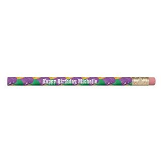 着色される謝肉祭は| DIYの文字を風船のようにふくらませます 鉛筆