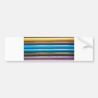 着色の鉛筆 バンパーステッカー