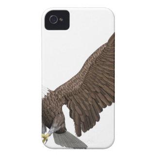 着陸のために来ている白頭鷲 Case-Mate iPhone 4 ケース