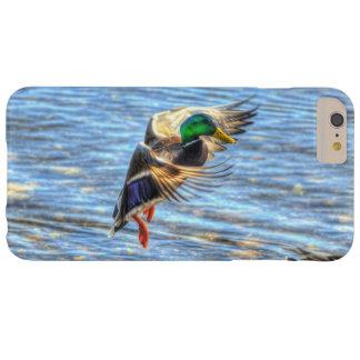 着陸のマガモのアヒルのドレーク5の野性生物の写真 BARELY THERE iPhone 6 PLUS ケース