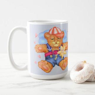 睡眠くまのベビーの漫画のクラシックのマグ コーヒーマグカップ