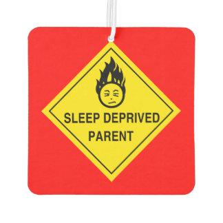 睡眠によって奪い取られる親 カーエアーフレッシュナー