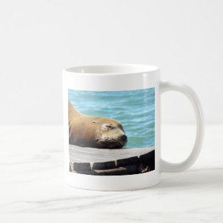 睡眠のアシカ コーヒーマグカップ