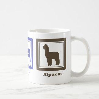 睡眠のアルパカを食べて下さい コーヒーマグカップ