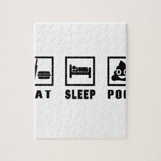 睡眠のウンチを食べて下さい ジグソーパズル