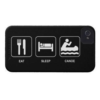 睡眠のカヌーを食べて下さい Case-Mate iPhone 4 ケース