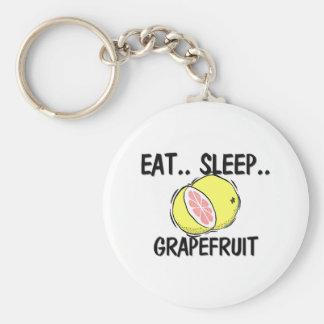 睡眠のグレープフルーツを食べて下さい キーホルダー