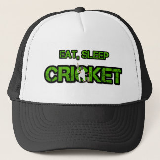 睡眠のコオロギを食べて下さい キャップ