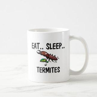 睡眠のシロアリを食べて下さい コーヒーマグカップ