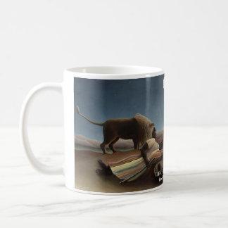 睡眠のジプシーの歴史的マグ コーヒーマグカップ