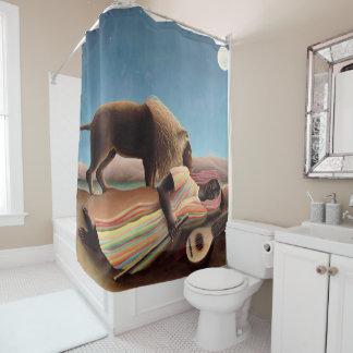 睡眠のジプシー シャワーカーテン
