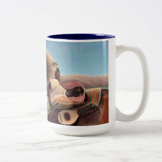 睡眠のジプシー ツートーンマグカップ