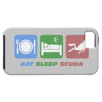 睡眠のスキューバを食べて下さい iPhone SE/5/5s ケース