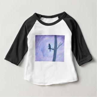 睡眠のタカ ベビーTシャツ