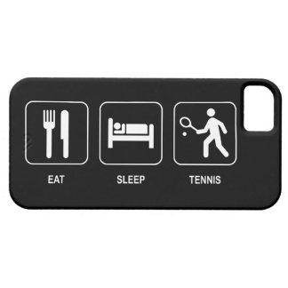 睡眠のテニスを食べて下さい iPhone SE/5/5s ケース