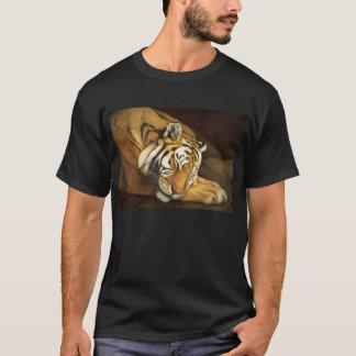 睡眠のトラ Tシャツ