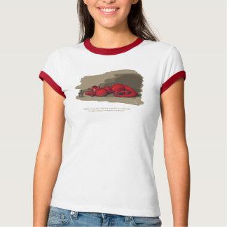 睡眠のドラゴン Tシャツ