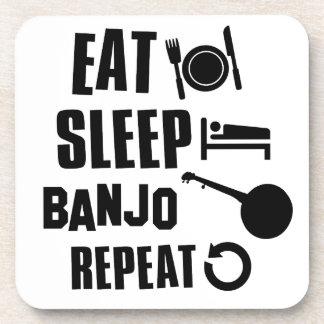 睡眠のバンジョーを食べて下さい コースター
