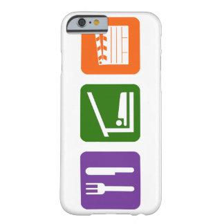 睡眠のフィルムの生産を食べて下さい BARELY THERE iPhone 6 ケース