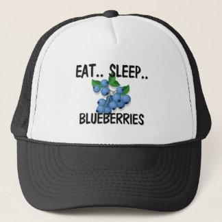 睡眠のブルーベリーを食べて下さい キャップ
