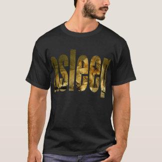 睡眠のライオンのTシャツ Tシャツ