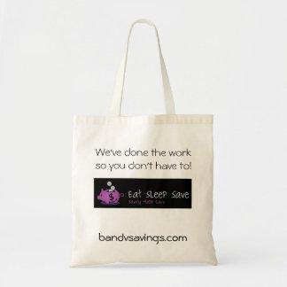 睡眠の保存のバッグを食べて下さい トートバッグ