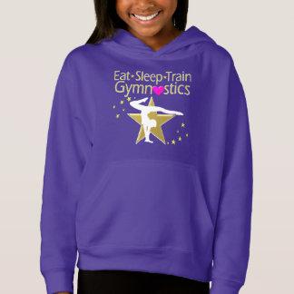 睡眠の列車の体操のデザインを食べて下さい
