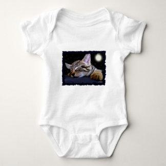 睡眠の子猫のコレクション ベビーボディスーツ
