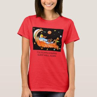 睡眠の実験室POLYSOMNOGRAPHY Tシャツ