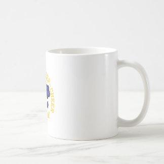 睡眠の応援を食べて下さい コーヒーマグカップ