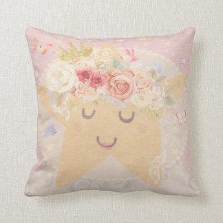 睡眠の星のBohoの蝶ベビーの子供部屋の枕 クッション