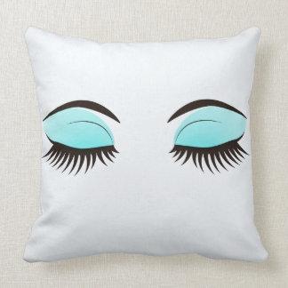睡眠の目のまつげの装飾用クッション クッション