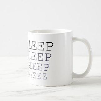 睡眠の睡眠の睡眠のプリントのマグ コーヒーマグカップ