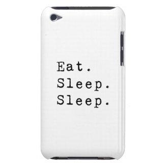 睡眠の睡眠を食べて下さい Case-Mate iPod TOUCH ケース