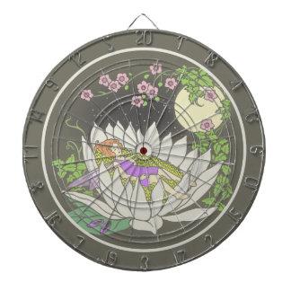 睡眠の花の妖精の月光の星 ダーツボード