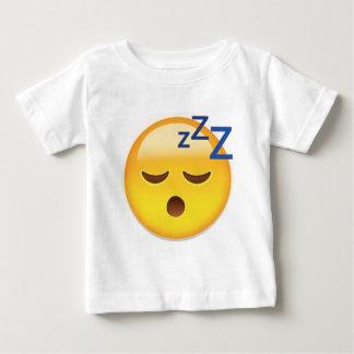 睡眠の顔Emoji ベビーTシャツ