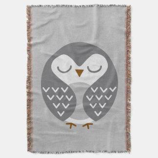 睡眠の鳥の灰色 スローブランケット