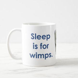 睡眠は弱虫-コーヒーのためです コーヒーマグカップ