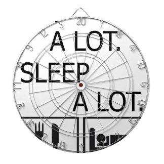 睡眠をたくさんたくさん食べて下さい ダーツボード