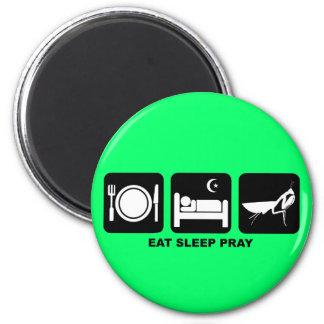 睡眠を祈ります食べて下さい マグネット